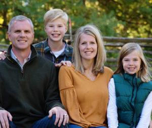 Mark Hall's Family